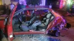 Három sérült egy segesdi balesetben