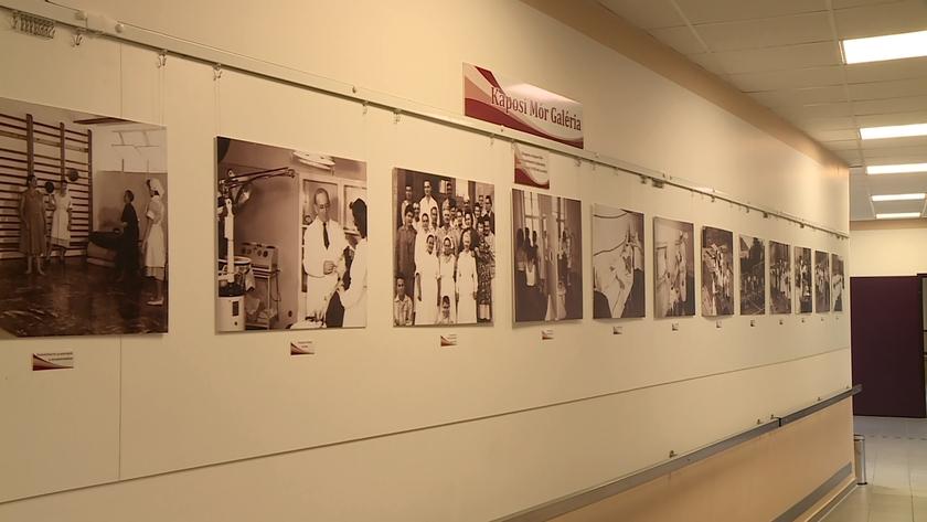 Kiállítás nyílt a kórházban