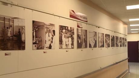 Kiállítást avattak a kórházban