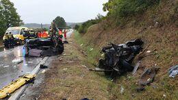 Három ember meghalt a 65-ös úton történt balesetben