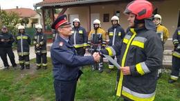 Bizonyítottaka nagybajomi önkéntes tűzoltók