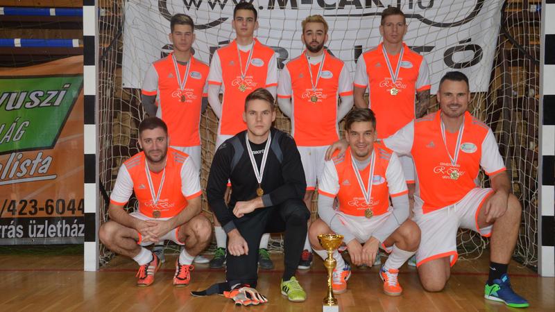 a kupagyőztes Bocz Kft. Pécs csapata