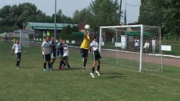 Gibraltári vendégek az ifjúsági focifesztiválon