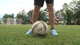 Így fociznak Fonyódligeten