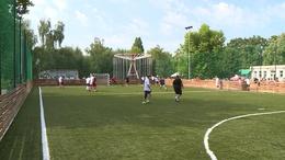Új műfüves futball pálya Csökölyben