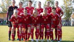 Elitkörben a női U19-es válogatott