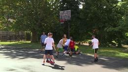 A kosarasok is fesztiváloznak