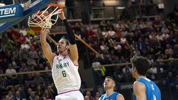 Férfi kosárlabda Eb-selejtező: győzelem a címvédő ellen a nyitányon