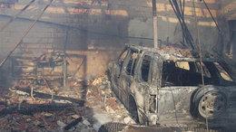 Mentőhelikopter vitte el a súlyosan égett nőt
